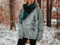Pine Tree Forest Crewneck
