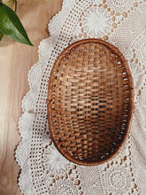 Load image into Gallery viewer, Oval Wicker Basket - VintageChameleon