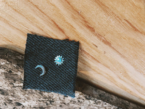 Sun and Moon Earrings - VintageChameleon