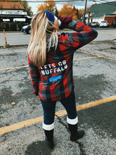 Load image into Gallery viewer, Let's Go Buffalo Flannel - VintageChameleon