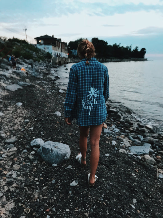 Beach Bum Flannel
