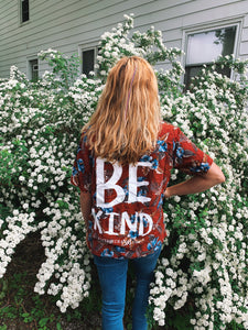 Be Kind Hawaiian Shirt - VintageChameleon