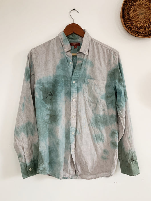 Teal Tie Dye size Small