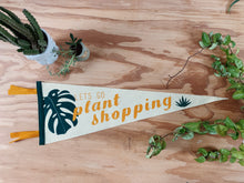 Load image into Gallery viewer, Plant Shopping Pennant - VintageChameleon