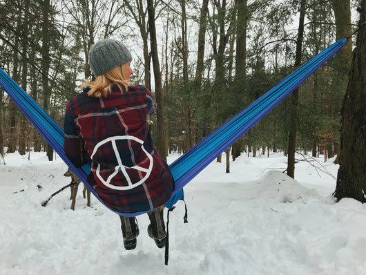 Peace Sign Flannel