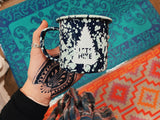 Speckled Tin Mugs - VintageChameleon