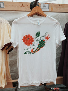 Fall is Gourdges Tee - VintageChameleon