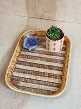 Load image into Gallery viewer, Large Wicker Tray - VintageChameleon