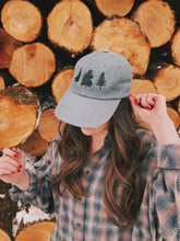 Load image into Gallery viewer, Pine Tree Baseball Hat - VintageChameleon