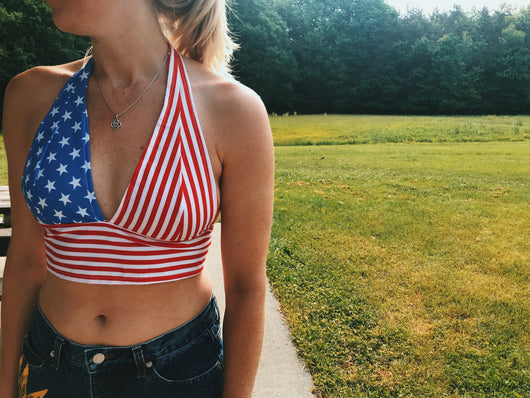 Stars & Stripes Bralette