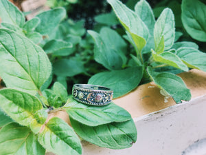 Sun and Moon Solid Boho Ring - VintageChameleon