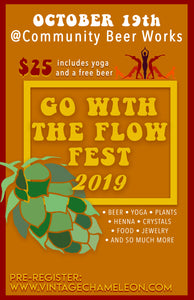 Go With The Flow Fest 10/19 - VintageChameleon