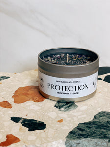 Protection Candle by Lunar Rei