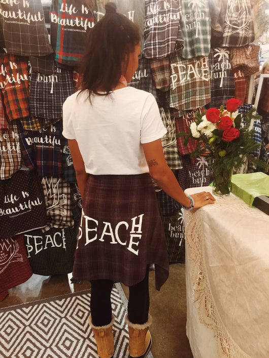 Teach Peace Flannel