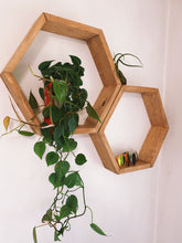 Load image into Gallery viewer, Hexagon Shelves - VintageChameleon