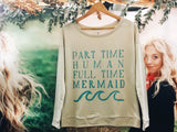 Full Time Mermaid Crew - VintageChameleon
