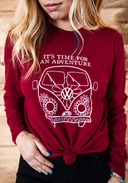 VW Bus Adventure Long Sleeve - VintageChameleon