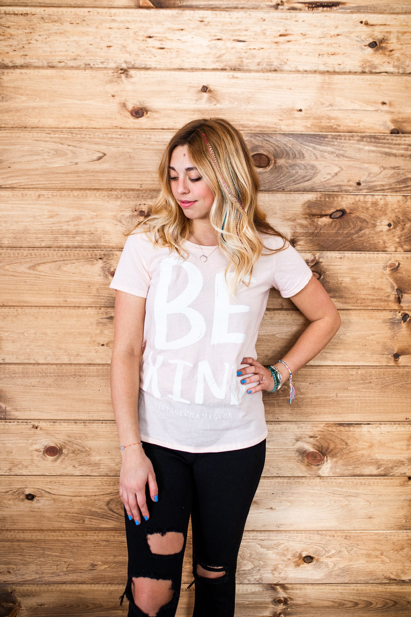 Be Kind Tee - VintageChameleon
