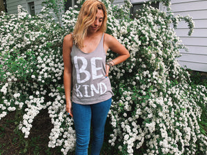 Be Kind Tank - VintageChameleon