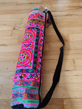 Load image into Gallery viewer, Thai Embroidered Yoga Mat Bag - VintageChameleon