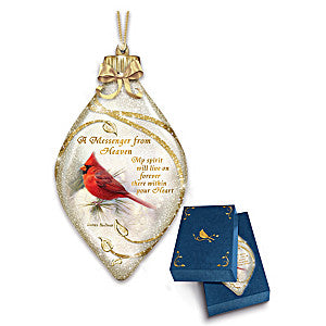 A Messenger from Heaven Ornament