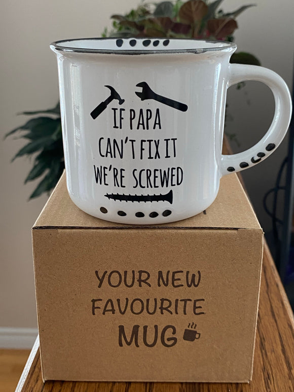Mug - If Papa Can't Fix it
