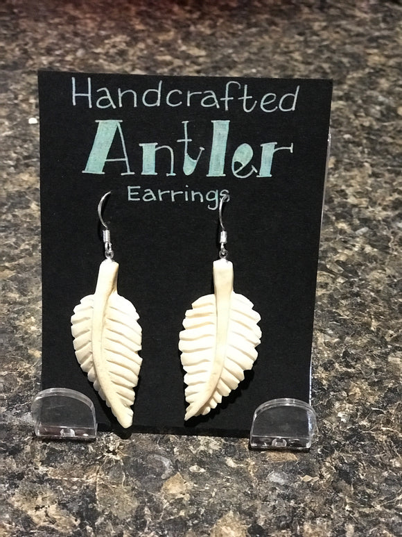 Moose Antler Earrings
