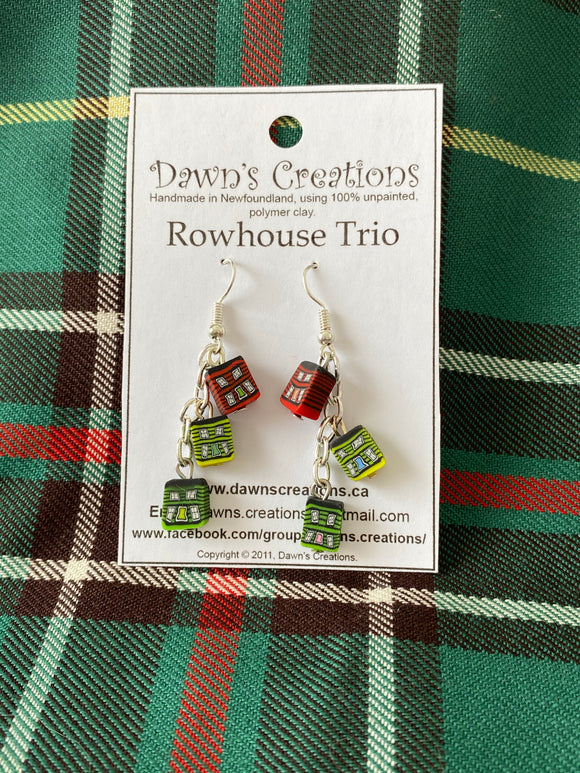 Earrings - Rowhouses