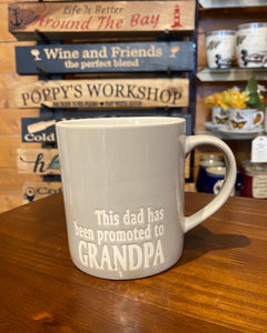 Mug - promoted to Grandpa