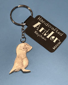 Moose Antler Key Chain