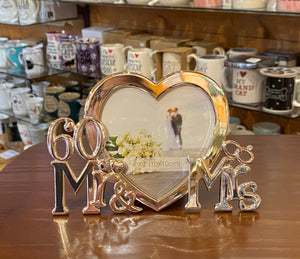 Frame- Mr & Mrs 60th