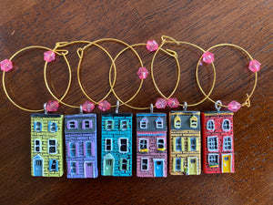 Wine Charms - Rowhouses