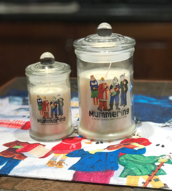 Glass Jar Candle - Mummers