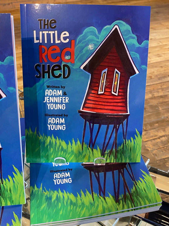 Book - The Little Red Shed