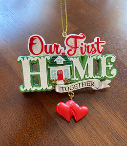 Ornament - 1st Home Together