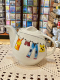 Tea Pot - Mom's Clothesline Design