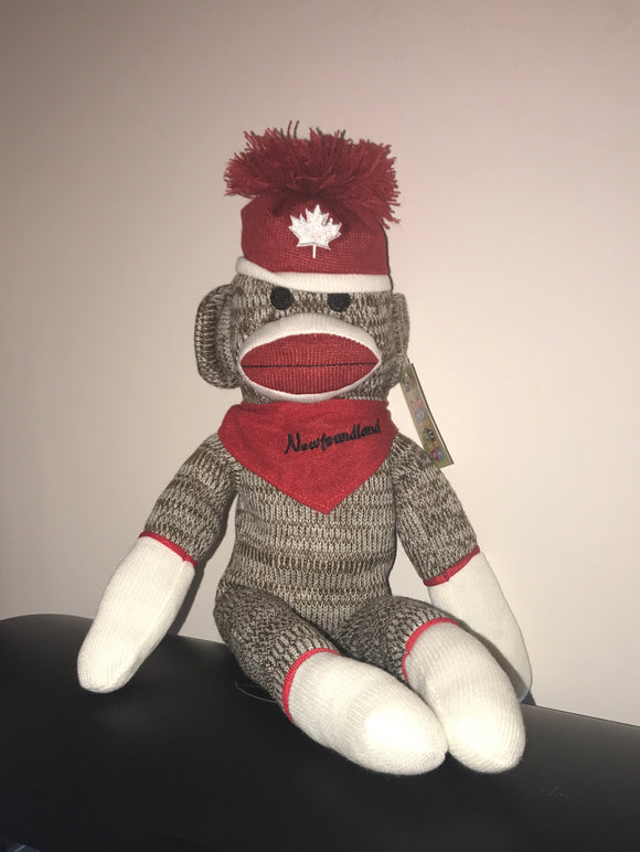 Newfoundland Sock Monkey