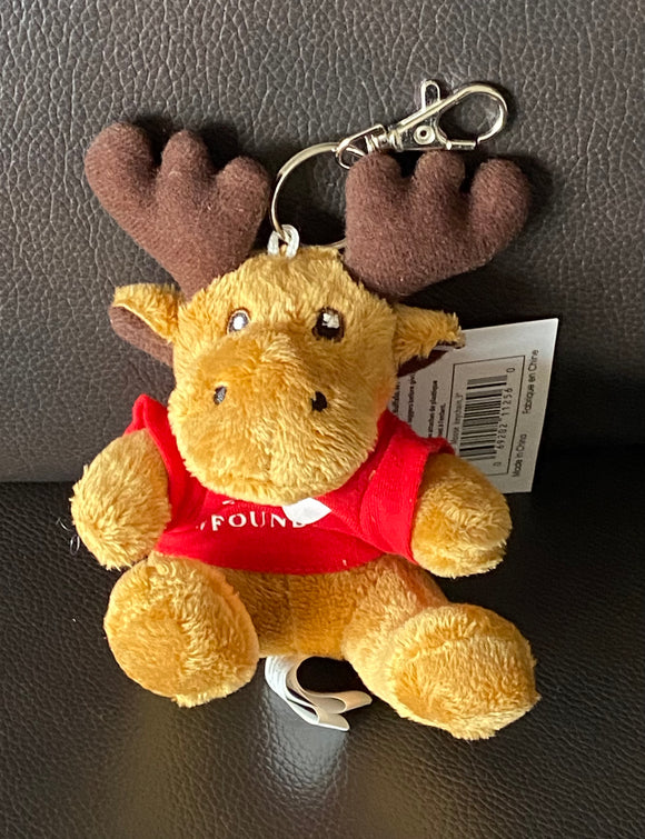 Moose Key Ring