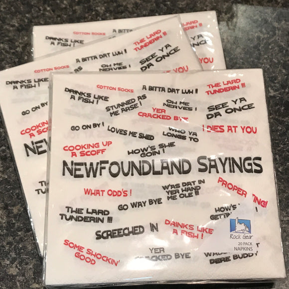 Napkins NL Sayings