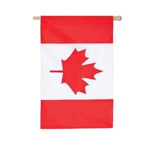 House Flag - Canada - Suede
