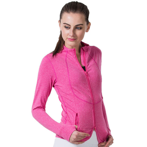 Ladies Winter Running Jacket - Anti-Shrink - Anti-Wrinkle - Quick-Dry - Breathable - Anti-Pilling - LTS Trading Co