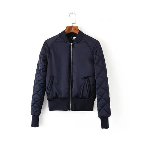 Autumn/Winter Outerwear Warm Padded Bomber Jacket #018 - LTS Trading Co