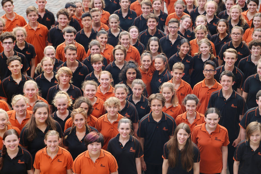 Gondwana Choirs Orange Polo