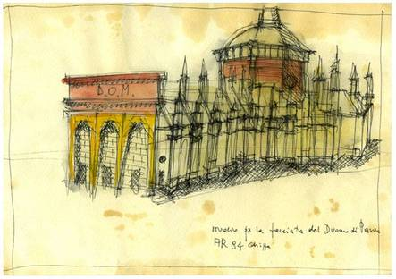 Aldo Rossi : Architecture , Projects and Drawings