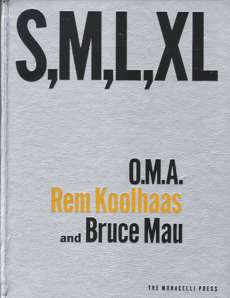 S,M,L,XL (Signed by Rem Koolhaas)