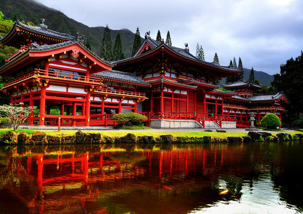 Byodo-In  The Valley Of The Temples, Memorial Park