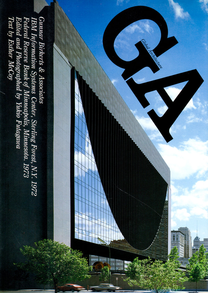 Global Architecture 31: Gunnar Birkerts & Associates (Library Copy)