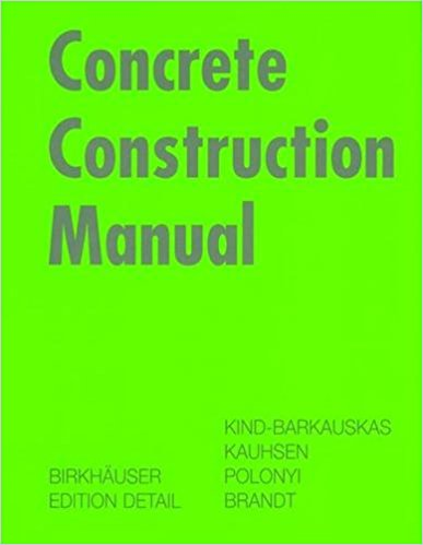 Concrete Construction Manual.