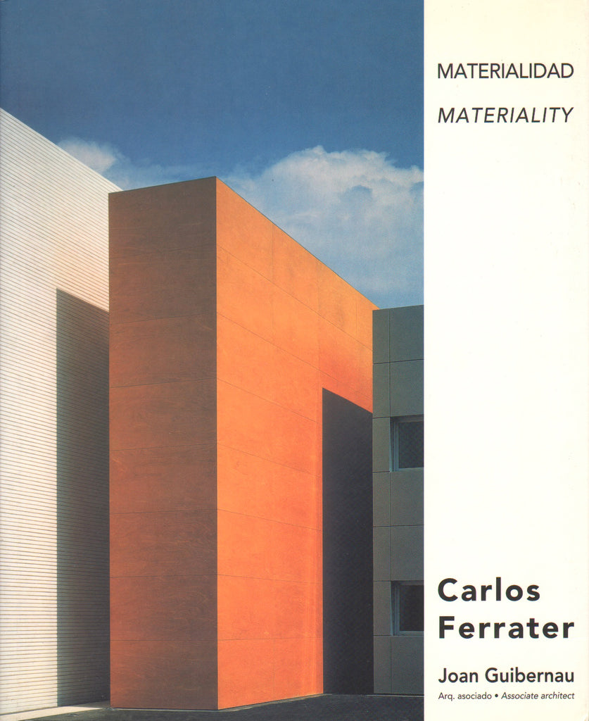Carlos Ferrater   Materiality
