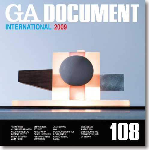 GA Document 108:  International 2009